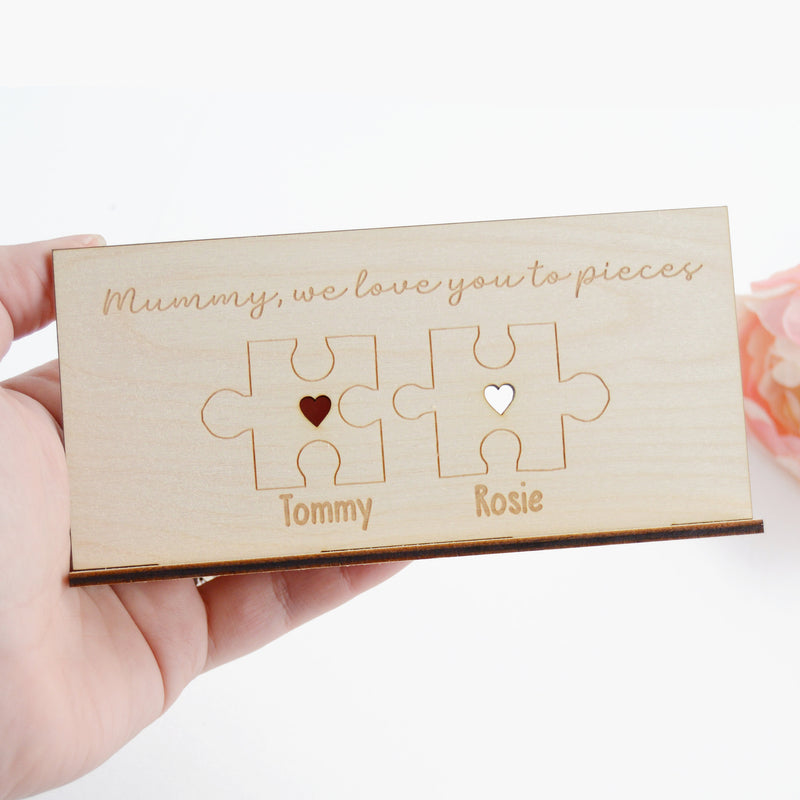 Puzzle Piece Love You To Pieces Mothers Day Gift