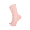 Carpe Diem Pink Socks