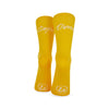 Carpe Diem Yellow Socks