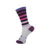 Fade To Grey Purple Socks