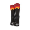 New York Skyline Sunset Socks