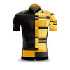 Mens Mondrian vs Art Deco Yellow Jersey