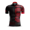 Mens Mondrian vs Art Deco Red Jersey