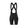 Womens The TeRRI Flatte Black Bibshorts