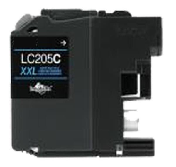 Brother LC205C-XXL INK / INKJET Extra High Yield Cartridge Cyan-Ink Toner Shop