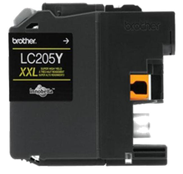 Brother LC205Y-XXL INK / INKJET Extra High Yield Cartridge Yellow-Ink Toner Shop