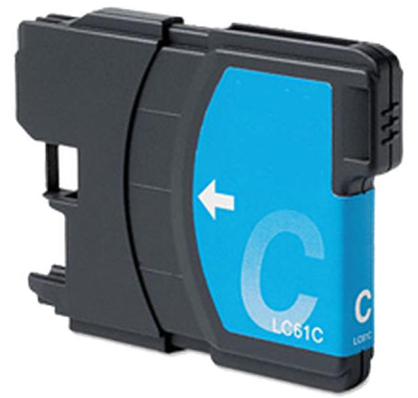 Brother LC61C Ink Cartridge Cyan-Ink Toner Shop