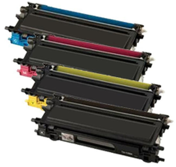 Brother TN115 Laser Toner Cartridge Set Black Cyan Yellow Magenta High Yield-Ink Toner Shop