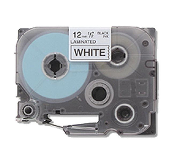 "BROTHER P-Touch Label Tape TZE-221 - 9m (0.375"") Black on White-Ink Toner Shop"