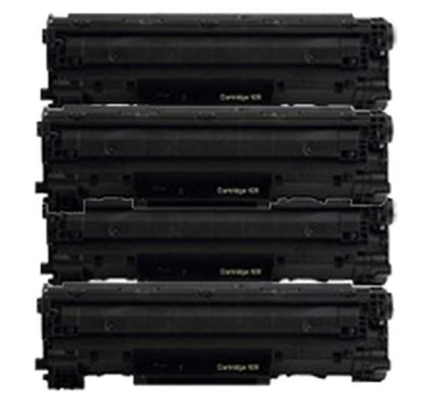 PACK of 4-CANON 128 (3500B001AA) Laser Toner Cartridge-Ink Toner Shop