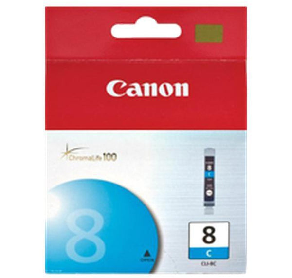 Brand New Original CANON CLI-8C INK / INKJET Cartridge Cyan-Ink Toner Shop