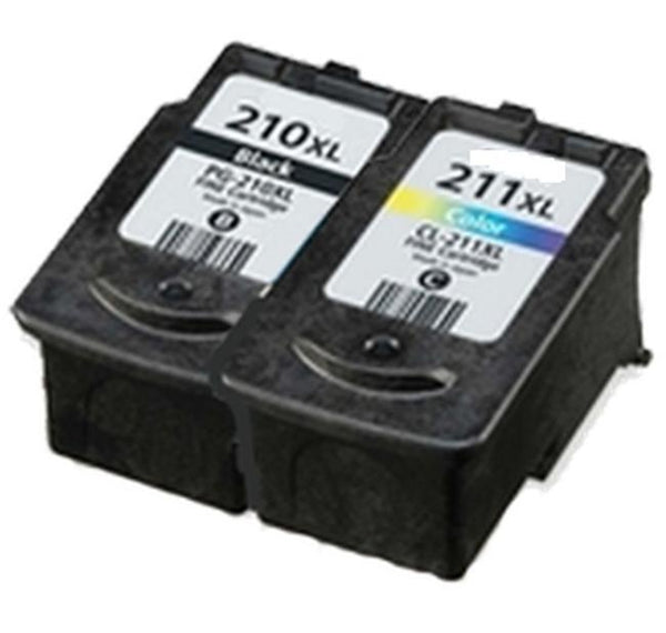 CANON PG-210XL / CL-211XL High Yield INK / INKJET Cartridge Combo-Ink Toner Shop