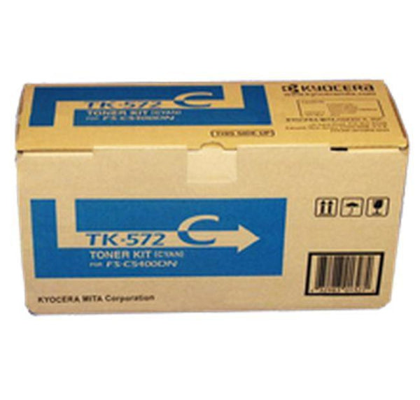 Brand New Original KYOCERA / MITA TK-572C Laser Toner Cartridge Cyan-Ink Toner Shop