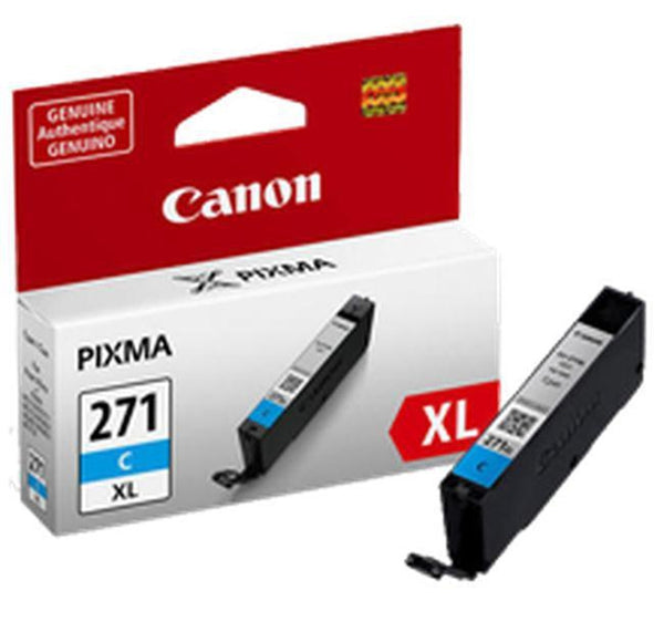 Brand New Original CANON CLI-271C-XL High Yield INK / INKJET Cartridge Cyan-Ink Toner Shop
