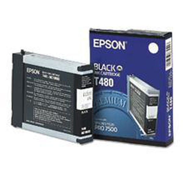 Brand New Original EPSON T480011 Ink / Inkjet Cartridge Black-Ink Toner Shop