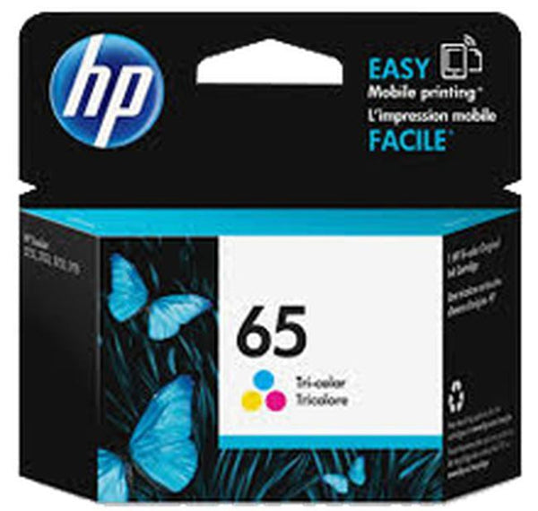 Brand New OEM Original HP N9K01AN (#65) INK / INKJET Cartridge Tri-Color-Ink Toner Shop