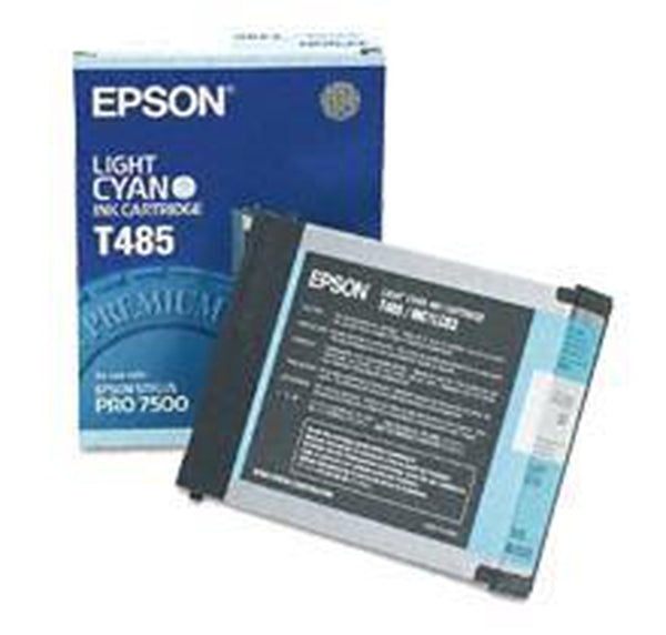 Brand New Original EPSON T485011 Ink / Inkjet Cartridge Light Cyan-Ink Toner Shop