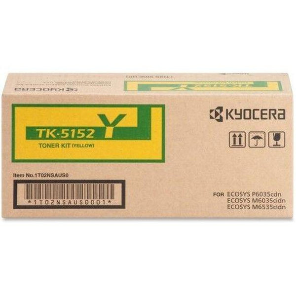 Brand New Original Kyocera Mita TK5152Y Toner Cartridge Yellow-Ink Toner Shop