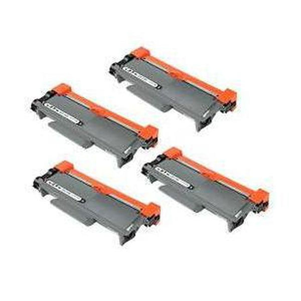 PACK of 4-Brother TN660 Laser Toner Cartridge Black High Yield-Ink Toner Shop