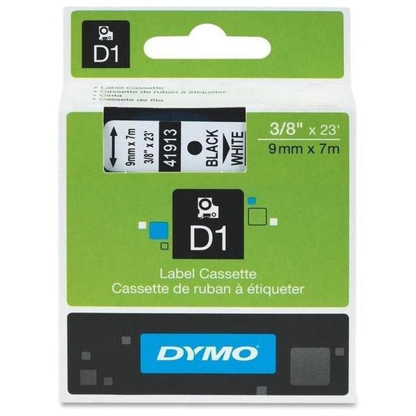 Brand New Original DYMO 41913 9 x 7m Label Tape Black on White-Ink Toner Shop