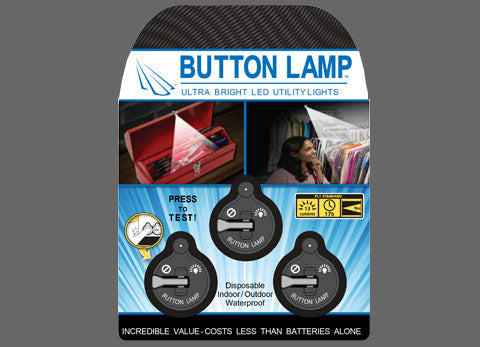 Button Lamp: 3 Pack