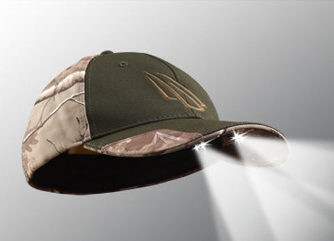 Powercap: 4LED Olive Camo
