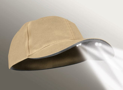 Powercap: 4LED Khaki