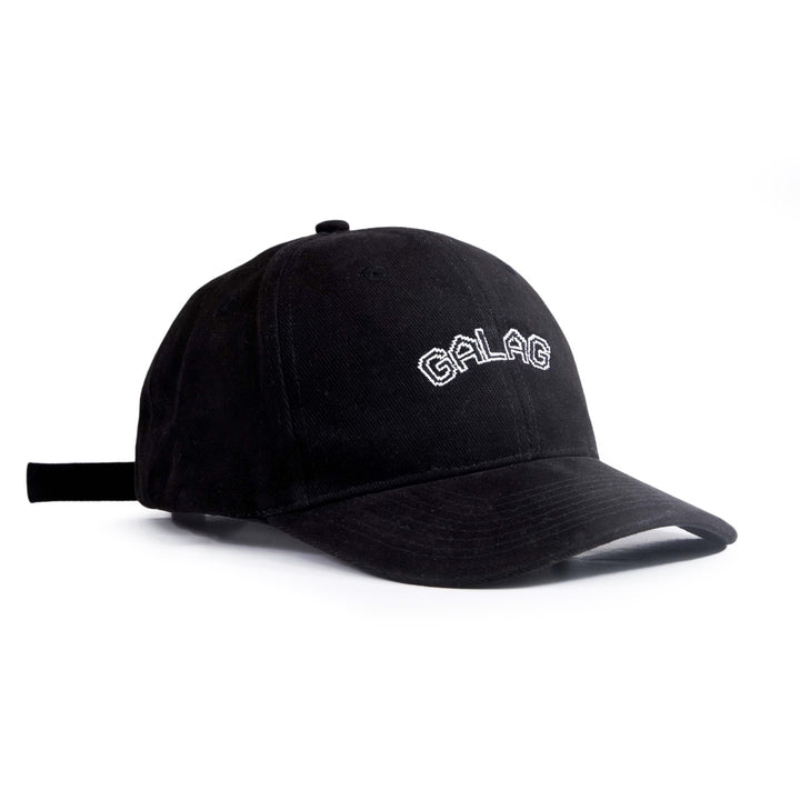 BLACK GLITCH LOGO HAT