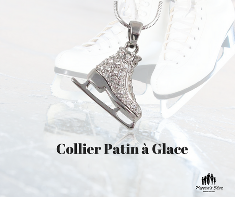 Collier patin à glace- Passion's Store
