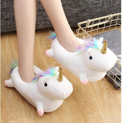 Chaussons licorne lumineuses-Passion's Store
