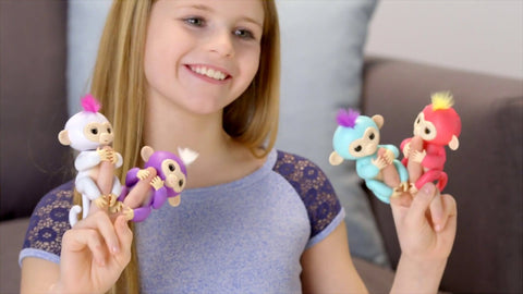 Fingerlings bebe Singe-Passion's Store