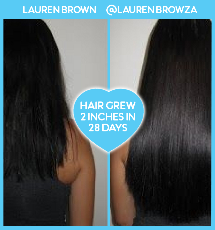 Lauren Brown Amazing Hair Growth