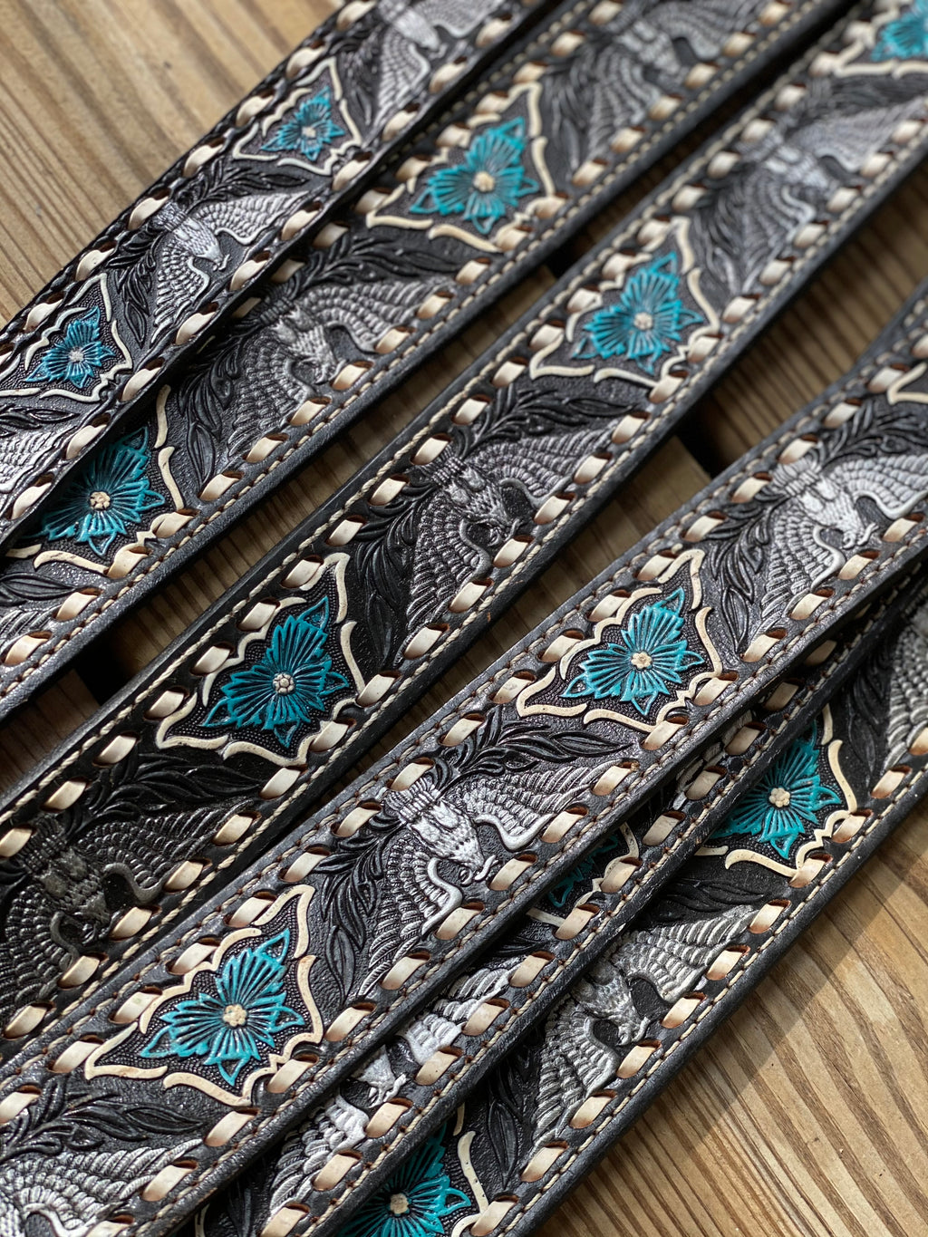 Vintage BuCkStiTCh Black Eagle Belt