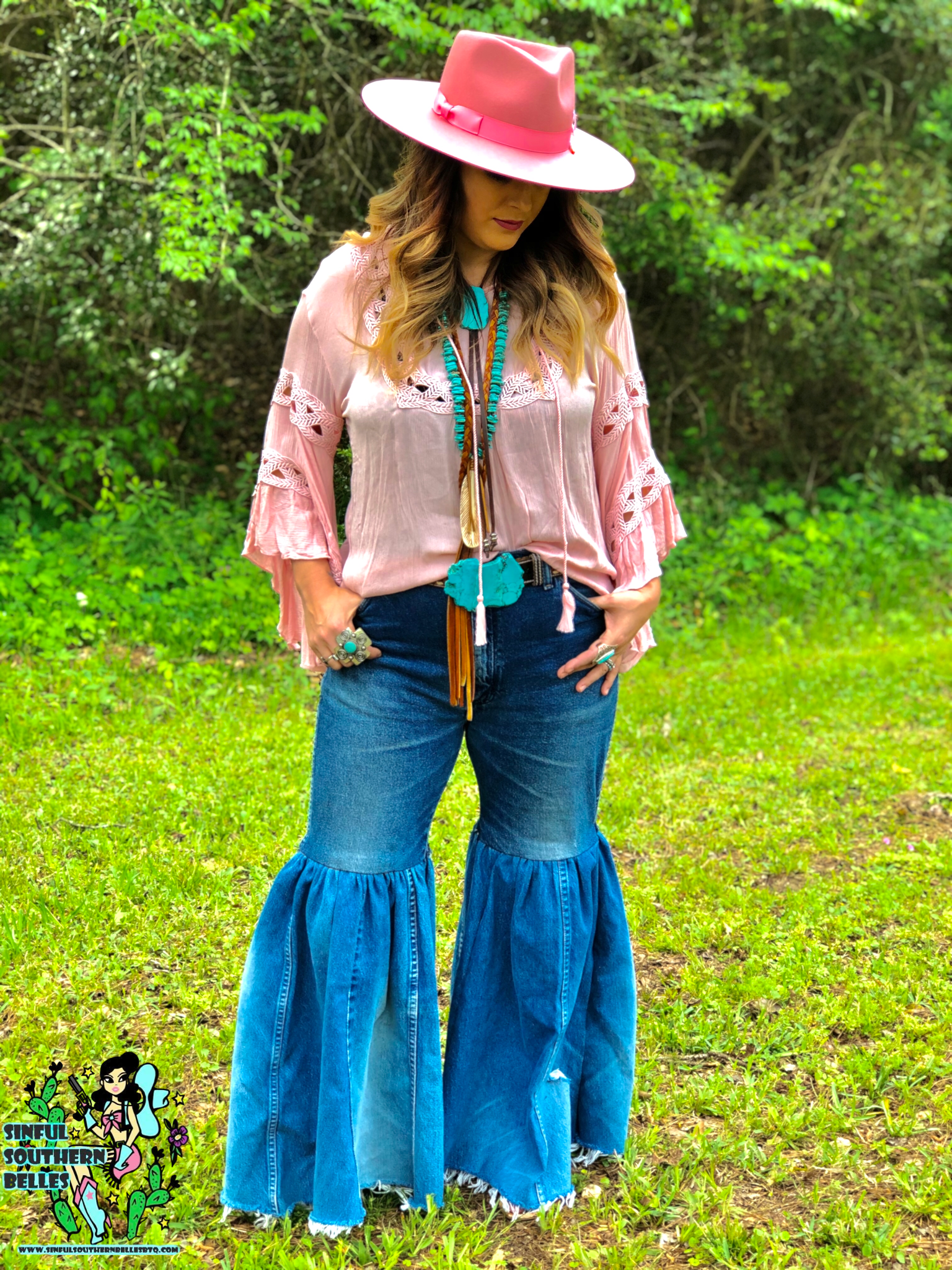 BLuE JeAn BaBy WrAnGLeR BeLL BotToMs