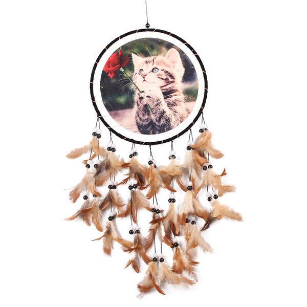 Handmade Cat DreamCatcher