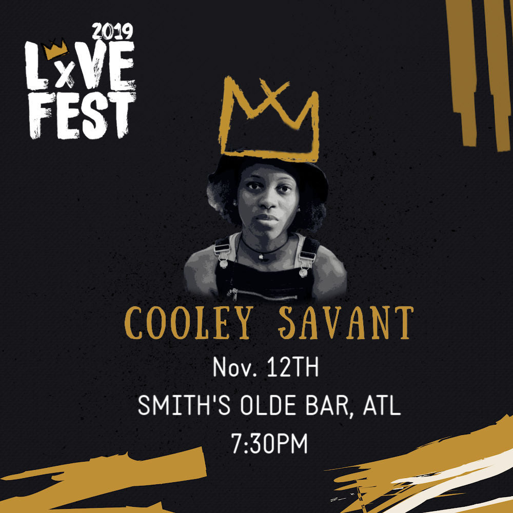 LxVE Presents: Cooley Savant