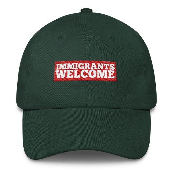 Immigrants Welcome Cap