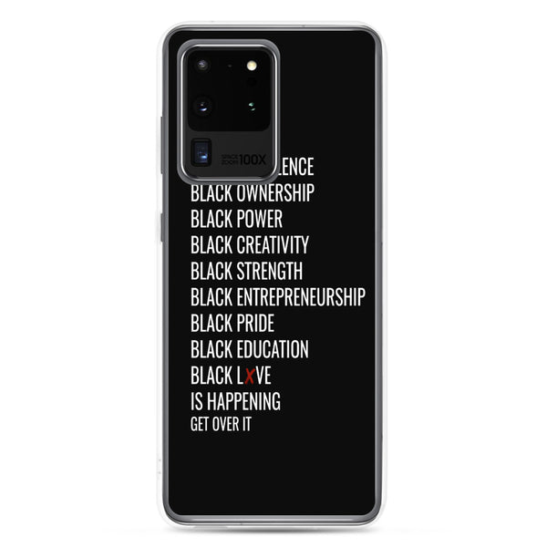 """All Black Everything"" Samsung Case"