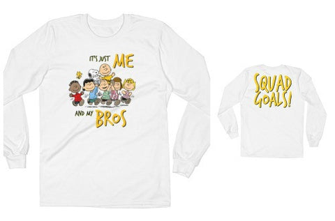 Squad Goals Tee (Charlie Brown)