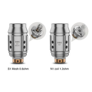 OBS KFB 2 Coils S1 Mesh - 5 Pack