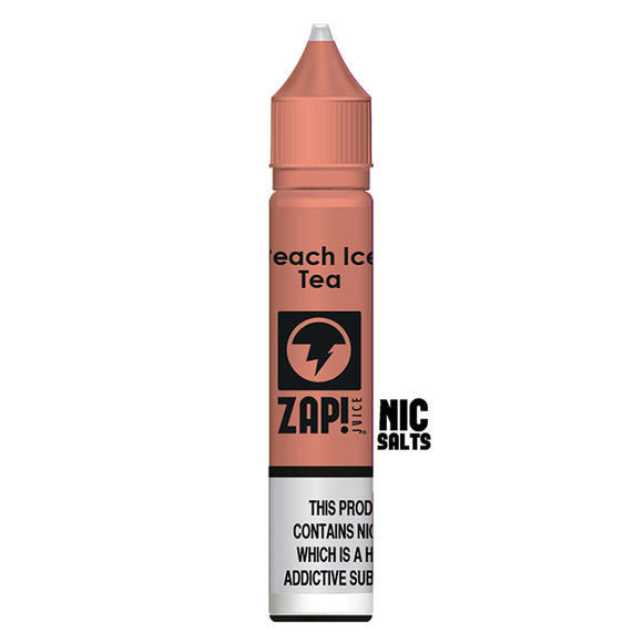 ZAP! Juice - Nic Salt - Peach Ice Tea