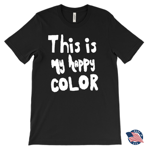 Happy by Meagan Men's Shirt