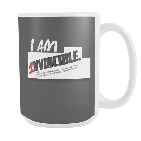 I Am Invincible Mug