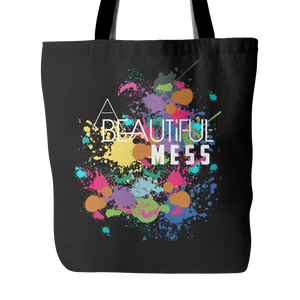 A Beautiful Mess Black Tote