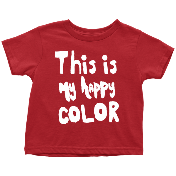 Happy by Meagan Toddler's Tee