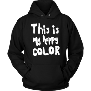 Happy by Meagan Unisex Hoodie