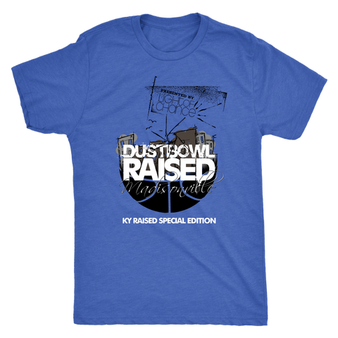 Dust Bowl Raised Men's Triblend Tee
