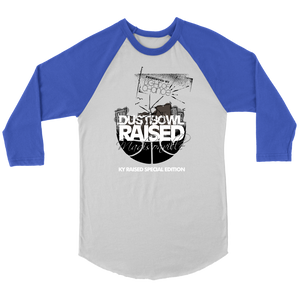 Dust Bowl Raised Baseball Tee
