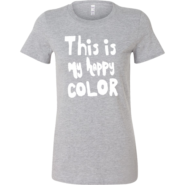 Happy by Meagan Women's Slim Fit Tee