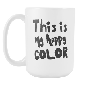 Happy by Meagan White Mug